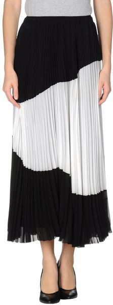 Alysi Long Skirt - Lyst