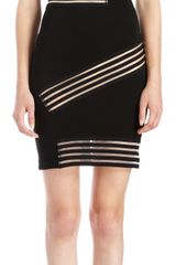 Christopher Kane Elastic Bardot Dress - Lyst