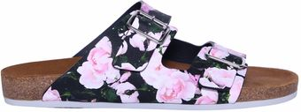 Givenchy Leather Sandal with Floral Print - Lyst