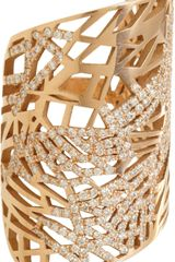 Repossi Diamond Large Art Nouveau Ring - Lyst