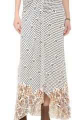 Free People Column Skirt - Lyst