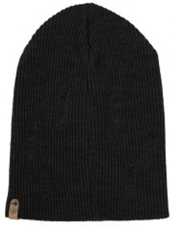 Mackage Tazf3 Knitted Black Beenie Hat - Lyst