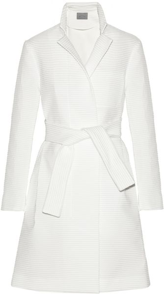 Maiyet Ribbed Jacquard Trench Coat - Lyst