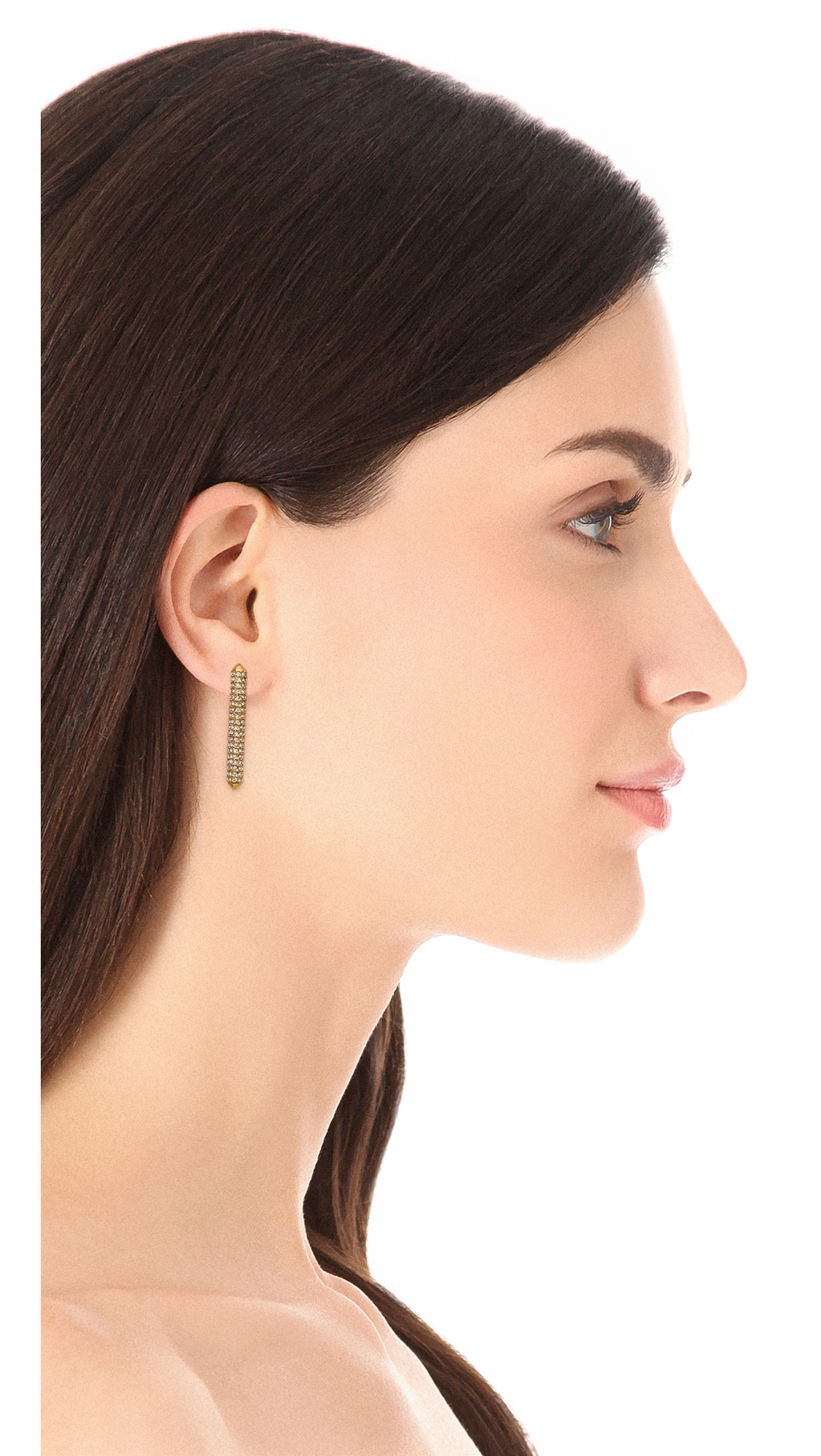 stud musical steel bar earrings music from online jewellery drop long stainless single pin note