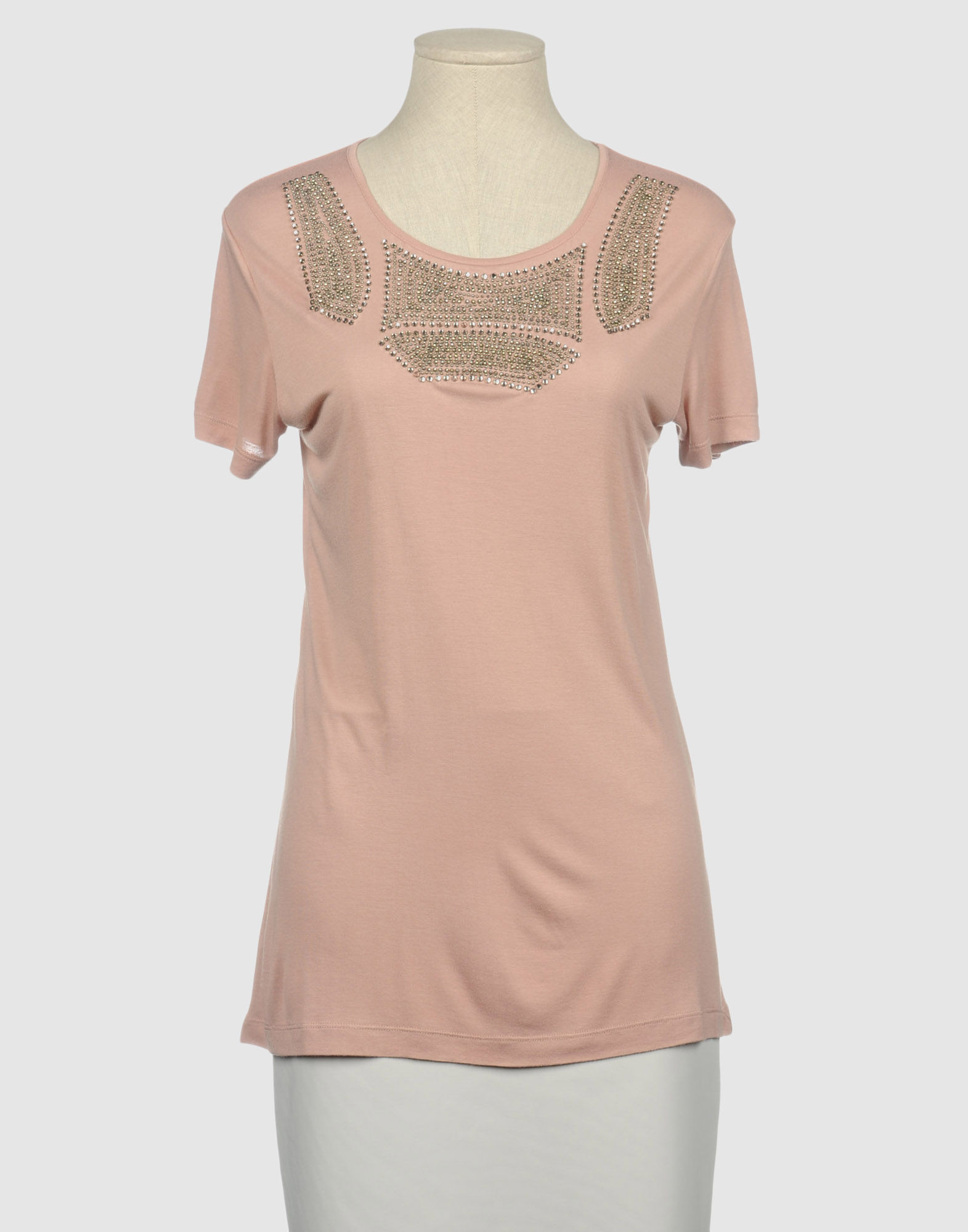 Amen Short Sleeve T Shirt In Pink Pastel Pink Lyst