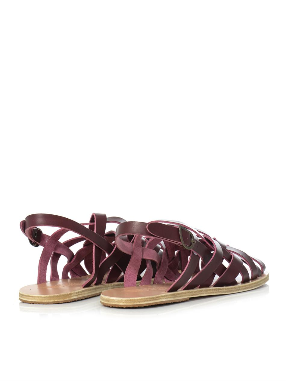 Ancient Greek Sandals Aristotelis Leather Sandals In