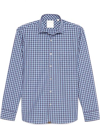 Billy Reid John T Small Plaid Sport Shirt - Lyst