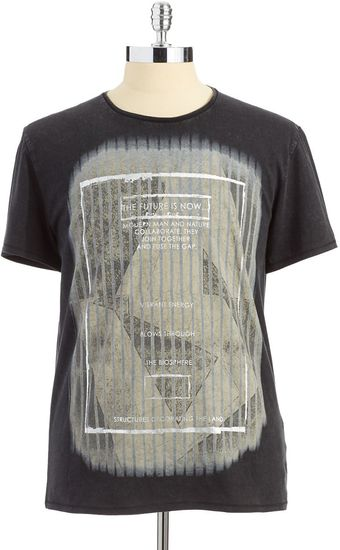 Calvin Klein Jeans Cotton Graphic Tshirt - Lyst