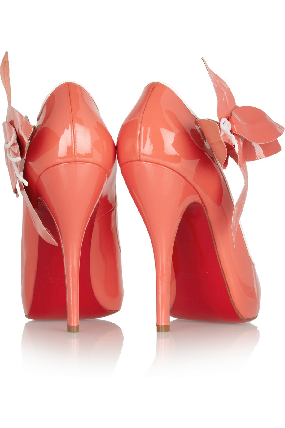 0770017db12f Christian Louboutin Tahiti 120 Patentleather Pumps in Pink - Lyst