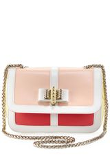 Christian Louboutin Sweet Charity Colorblock Shoulder Bag Multi Colors - Lyst