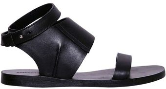 Costume National Leather Sandals - Lyst