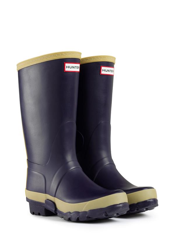 Hunter Gardener Boots In Purple For Men Aubergine Lyst