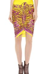 Jean Paul Gaultier Pencil Skirt - Lyst