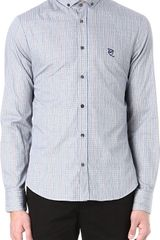 McQ by Alexander McQueen Gingham Harness Shirt - Lyst
