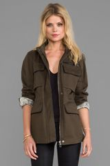 Sanctuary New Civillian Jacket in Army - Lyst