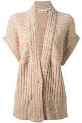 See By Chloé Cable Knit Cardigan - Lyst