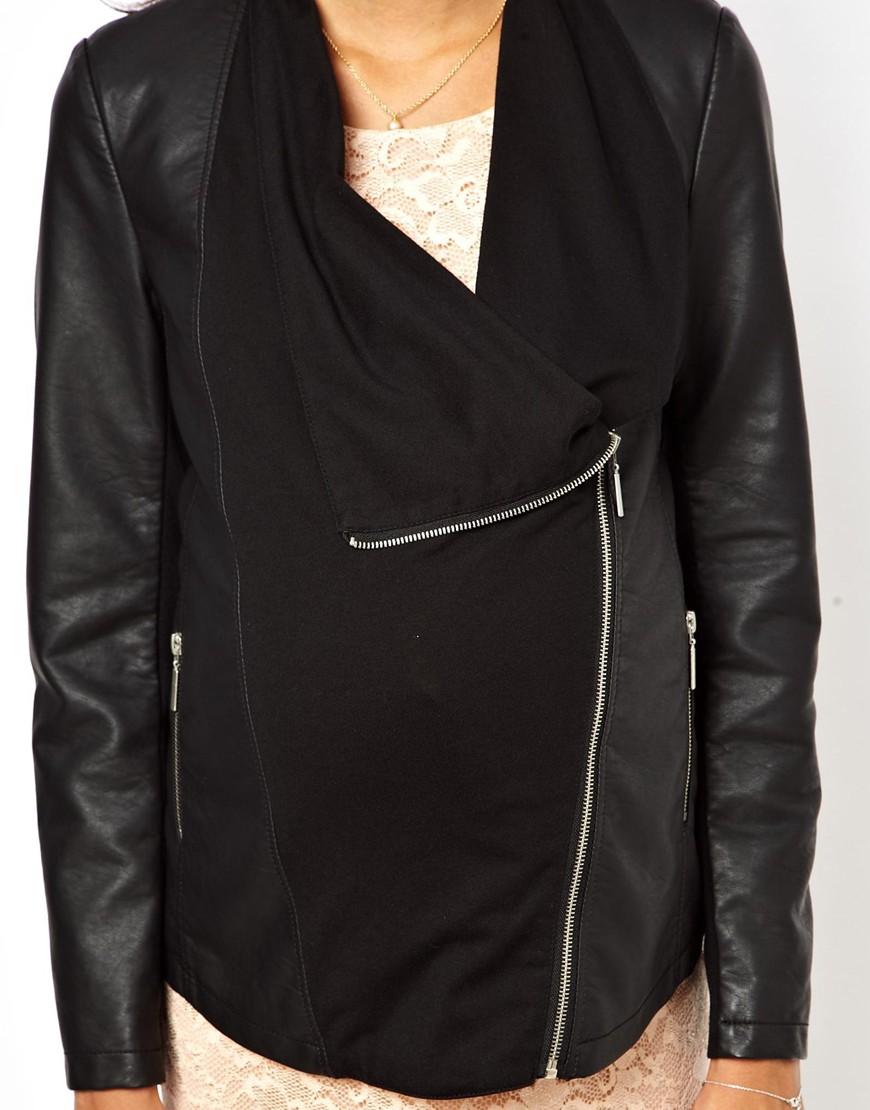 Leather jacket new look - Gallery Women S Waterfall Jackets