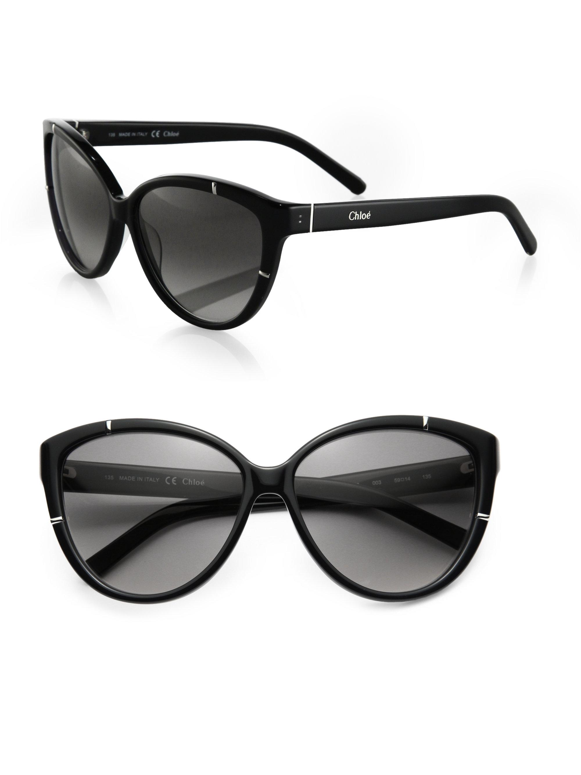 14771a9d53f Chloe Cl2233 Sunglasses Black