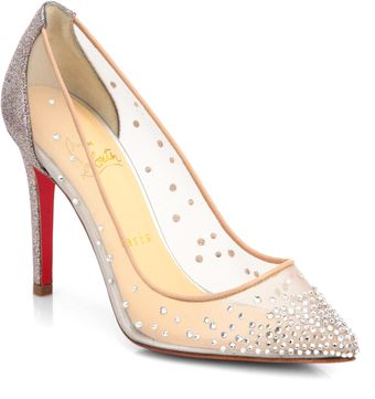 Christian Louboutin Body Strass Glitter Pumps - Lyst