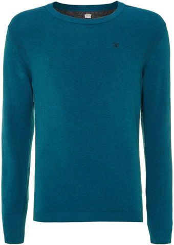 Diesel Crew Neck Knitted Sweatshirt - Lyst