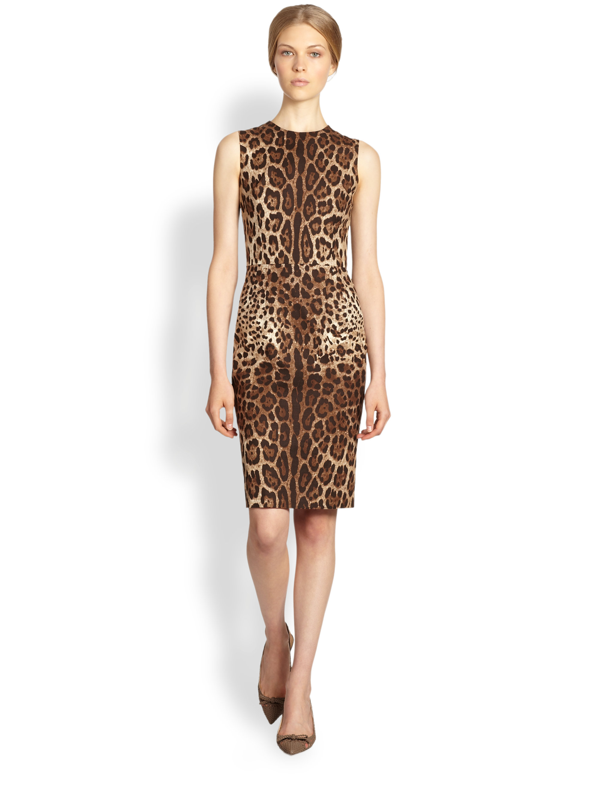 fe0bf890cc Gallery. Previously sold at  Saks Fifth Avenue · Women s Silk Chiffon Dresses  Women s Animal Print ...
