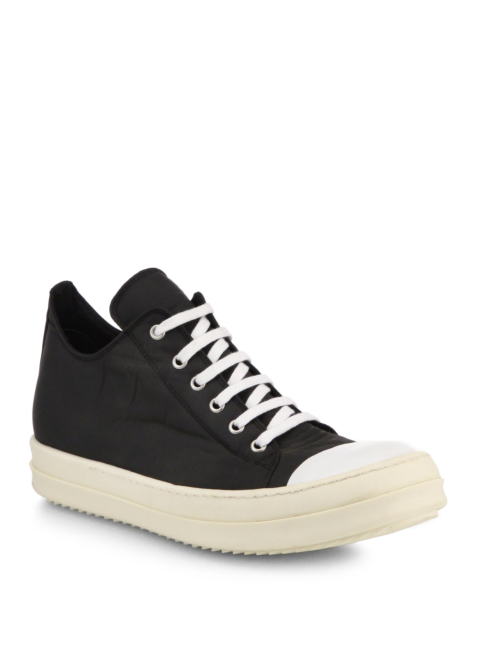 Rick Owens DRKSHDW low top sneakers - Negro Jpa70KSq