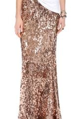 Free People Sequins For Miles Maxi Skirt - Lyst