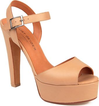 Kurt Geiger Gen Leather Sandals - Lyst