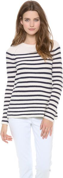 Madewell Striped Ingrid Pullover - Lyst