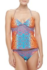 Nanette Lepore Charmer Printed Swim Bottom - Lyst