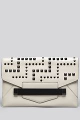 Rafe New York Clutch Sarina Berlin Oversized Studded Envelope - Lyst