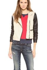 Rag & Bone The Moto Jacket - Lyst