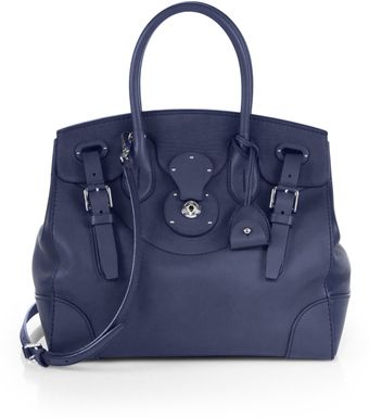 Ralph Lauren Collection Soft Ricky Satchel - Lyst