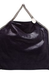 Stella McCartney Falabella Faux Suede Tote Bag - Lyst