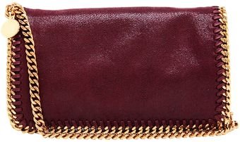 Stella McCartney 'Falabella' Faux Suede Clutch Bag - Lyst