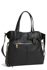 Steven By Steve Madden Prague Leather Tote - Lyst