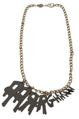 Tatty Devine Aargghh Necklace - Lyst