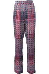 Thakoon Addition Printed Pattern Trouser - Lyst