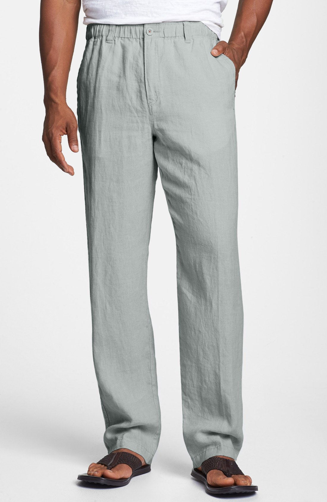 Luxury Grey Linen Pants Womens | Pant So