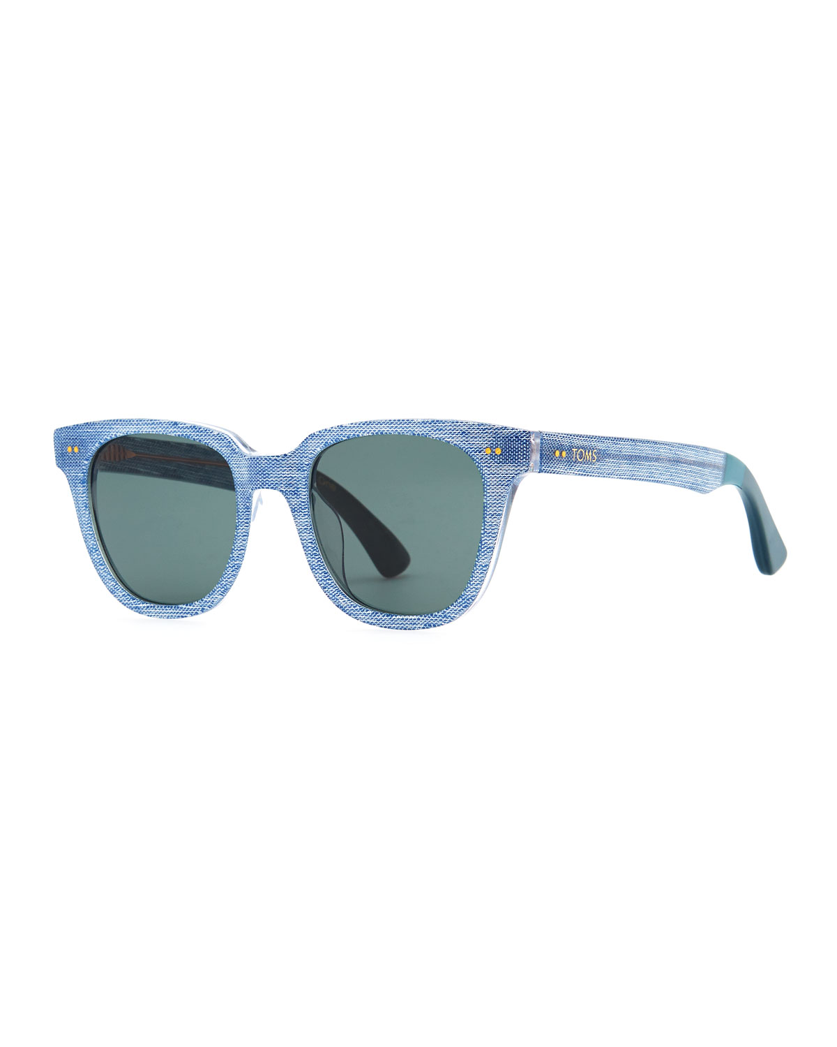 Eyeglass Frames In Memphis Tn : Toms Memphis Chambray Sunglasses in Blue (chambray) Lyst