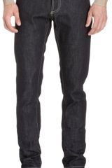 Balenciaga Five pocket Straight Leg Jeans - Lyst