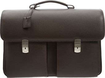 Barneys New York Twogusset Briefcase - Lyst