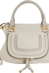 Chloé Marcie Medium Satchel with Strap - Lyst