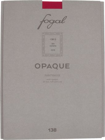 Fogal 30 Opaque Pantyhose - Lyst