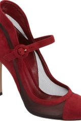 Gianvito Rossi High Back Mary Jane Pump - Lyst