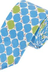 Gitman Vintage Apple Print Tie - Lyst