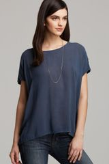 James Perse Top Oversize Collage - Lyst