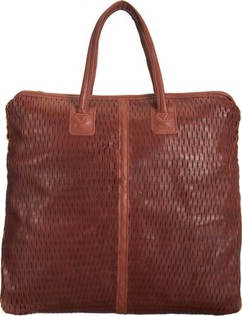 Jas Mb Basket Perforated Shopper Tote - Lyst