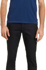 John Varvatos Slub V-Neck Short Sleeve Tee - Lyst