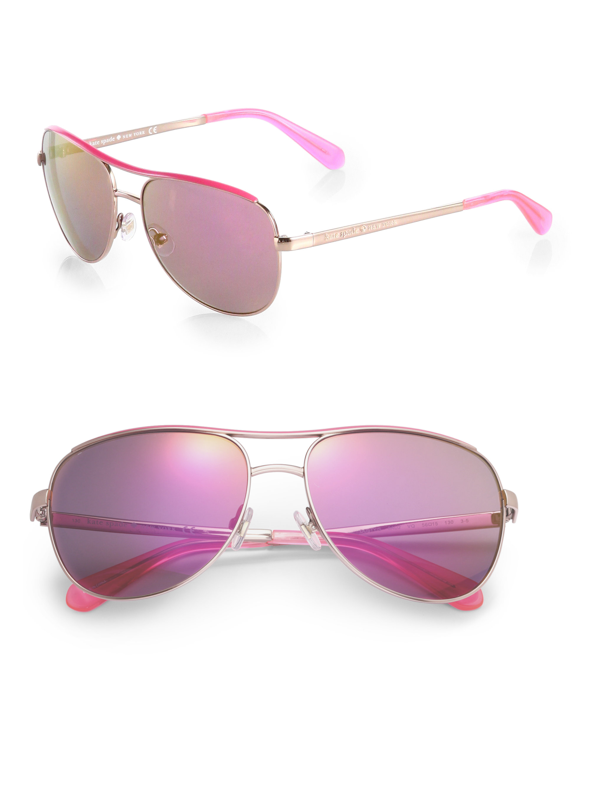 Pink Gucci Aviator Sunglasses | Louisiana Bucket Brigade